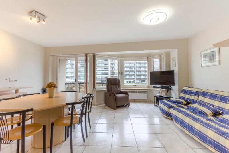 Modern 2-kamer appartement pal in het centrum van Westende-Bad