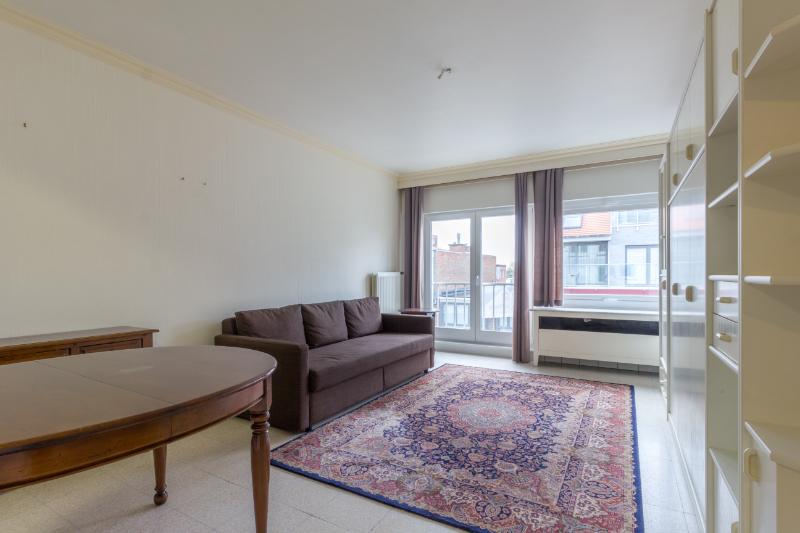 Ruim (62m²), op te frissen 1-kamer appartement